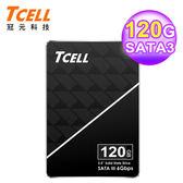 【TCELL 冠元】TT550 120G SSD 2.5吋固態硬碟(英倫紳士風)