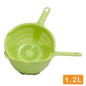 日本製造  附把洗物籃組(白色)SAN-D5422