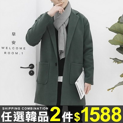 任選2件1588西裝外套英倫風寬鬆長袖風衣西裝外套【08B-F0413】