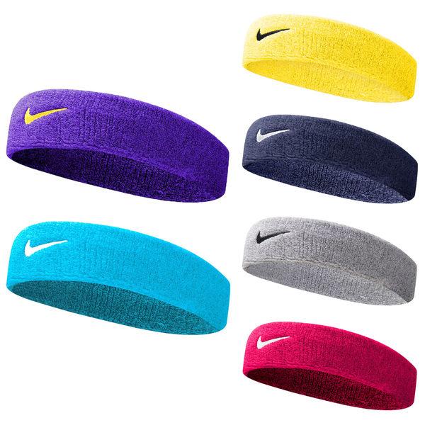 NIKE Swoosh單色頭帶 (一只入 慢跑 路跑 訓練 網球 籃球≡體院≡