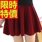 高腰短裙子春夏嚴選-繽紛聚會簡約日系夏季女裝15色53s52【巴黎精品】