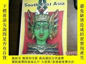 二手書博民逛書店SOUTH-EAST罕見ASIA ON A SHOESTRING(英文原版)Y160831
