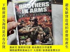 二手書博民逛書店遊戲光盤罕見XBOX 360 BROTHERS IN ARMS(