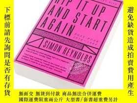 二手書博民逛書店撕碎它,重新開始:後朋克罕見1978-1984 英文原版 Rip