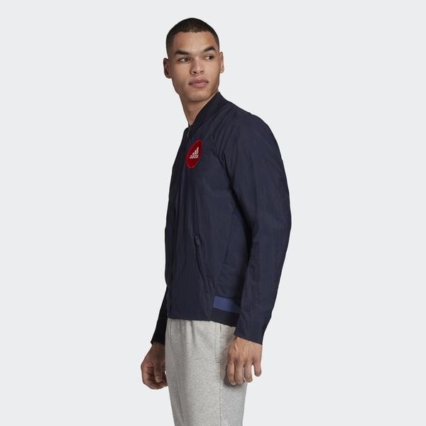 【二月大促2折後$3180】Adidas Vrct Tokyo 海軍藍 深藍 城市 東京 山形圖 外套 FI4030