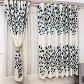 寬幅簡易窗簾成品陽台臥室飄窗短簾半簾便宜布料【元氣少女】