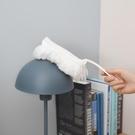 日本雞毛撣子家用不掉毛家務清潔可伸縮長柄靜電除塵撣掃牆灰塵刷