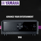 預購 YAMAHA 山葉 RX-V4A 環繞擴大機 5.2聲道 網路音樂串流 請先確認貨量