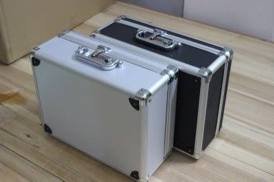 鋁合金工具箱   密碼儀器箱  手提  收納 加海綿【藍星居家】