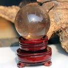 茶水晶球擺件 球直徑6.5cm