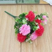仿真花束向日葵清新玫瑰餐桌假花擺件裝飾