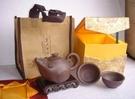 【協貿國際】十二生肖--原礦元寶鼠紫砂茶...