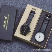 韓國原宿風ulzzang大錶盤手錶男女學生韓版簡約時尚潮流復古男錶igo 美芭
