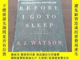 二手書博民逛書店Before罕見I Go to Sleep: A Novel(英