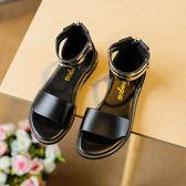 女童鞋羅馬涼鞋夏2018夏新款公主鞋兒童學生女孩寶寶中大童潮韓版 至簡元素