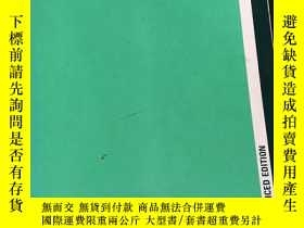 二手書博民逛書店the罕見ecology of natural resource