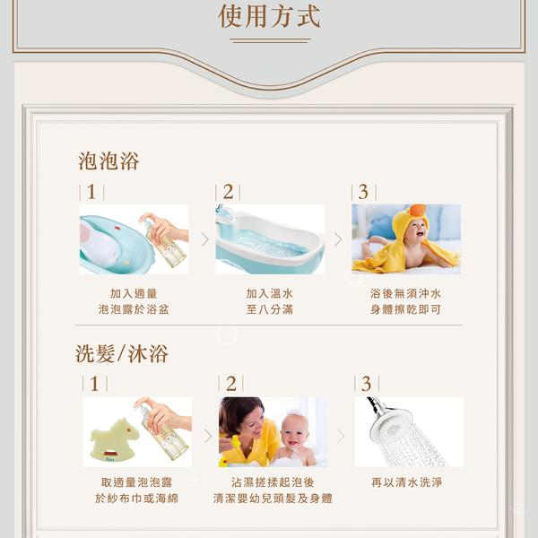 【Fees法緻】嬰兒柔護泡泡露-清新香300ml / 洗髮沐浴 泡泡浴 泡澡