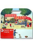 比利時 Egmont Toys 艾格蒙繪本風遊戲磁貼書:開心逛市集