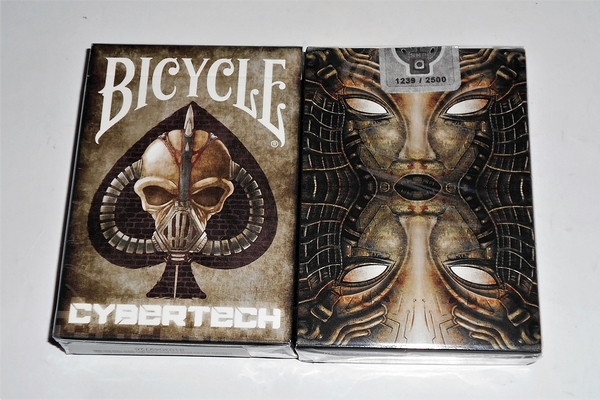 【USPCC撲克】Gilded Limited Edition Bicycle Cybertech S103049726