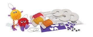 《 4M美勞創作 》Make Your Own Pom Poms 波波毛球家族  ╭★ JOYBUS玩具百貨