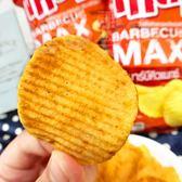 【泰國 Tasto 波浪洋芋片 極限烤肉風味 50g】A11   效期到2019.04.12