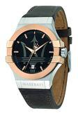 ★MASERATI WATCH★-瑪莎拉蒂手錶-石英白金款-R8851108014-錶現精品公司-原廠正貨-