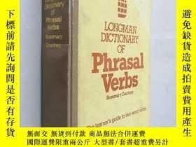 二手書博民逛書店Longman罕見Dictionary of Phrasal Verbs朗曼短語動詞詞典Y25446 :Ros