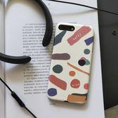 蘋果x彩色手機殼i7/8plus網紅款保護套i6s清新iphonexsmax韓系ins