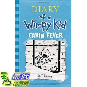 [ 美國直購 2016 暢銷書] Cabin Fever (Diary of a Wimpy Kid, Book 6) Hardcover