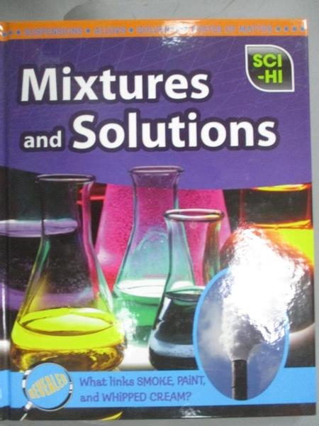 【書寶二手書T1/科學_QCX】Mixtures and Solutions_Carol Ballard, None