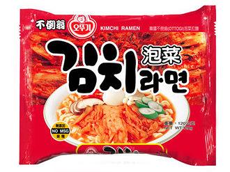 韓國OTTOGI不倒翁泡菜拉麵120g-單包【合迷雅好物超級商城】