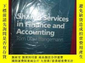 二手書博民逛書店Shared罕見Services In Finance And
