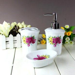 浴室用品陶瓷五件套
