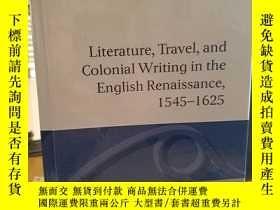 二手書博民逛書店Literature,罕見Travel, and Colonia