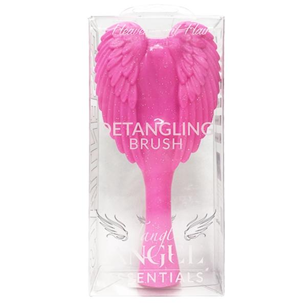 英國進口 Tangle Angel 美髮天使梳 Pink Sparkle 閃亮粉紅色 大尺寸款