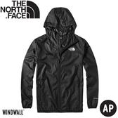 【The North Face 男 防風外套《黑》】4NC5/連帽風衣/運動外套/薄外套