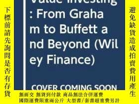 二手書博民逛書店Value罕見InvestingY256260 Bruce C. N. Greenwald Wiley 出版