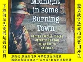 二手書博民逛書店Midnight罕見in Some Burning Town :