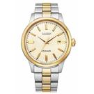 【台南 時代鐘錶 CITIZEN】星辰 紳士經典 日期顯示 鋼錶帶機械錶 NK0004-94P 金 40.2mm