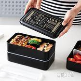 飯盒便當盒學生帶蓋分格餐盒保溫健身微波爐便當盒日式zzy5410『易購3c館』