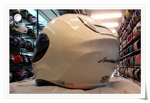 OGK安全帽,空氣刀3,AEROBLADE 3,素色/白