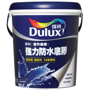 (組)得利倍剋漏防水組冰雪白10L(含防水底膠1G)