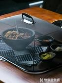 朵頤 鐵藝黑色餐桌罩 歐式長方形食物罩圓形蓋菜罩家用防蠅飯菜罩 NMS快意購物網