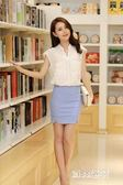 高腰彈力包臀修身半身職業裙KM1678『miss洛羽』