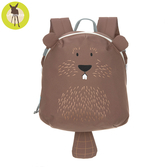 【新品上市送收納盒】德國Lassig-兒童動物造型後背包-海狸