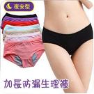 ►女士經期夜用防漏生理褲 衛生褲三角月經內褲【B7004】