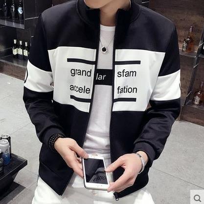 飛行夾克 男士外套   韓版學生 棒球