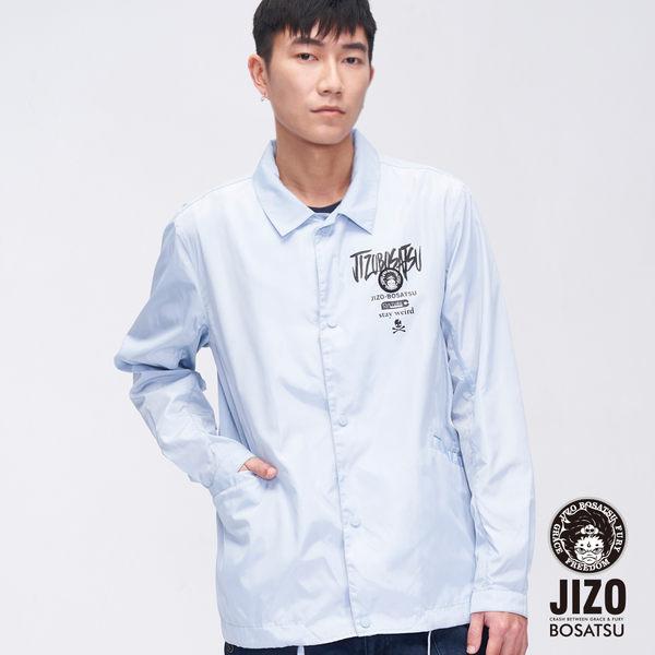 【19'新品】街頭文字教練外套(水藍) - BLUE WAY  地藏小王
