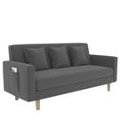 沙發小戶型北歐簡約現代租房臥室小沙發網紅款布藝客廳單雙人沙發【618店長推薦】