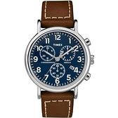TIMEX天美時 (TXTW2R42600) Weekender Chrono 三眼計時 手錶